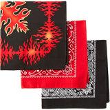 Mode féminine de l'impression Bandana foulard carré Headwrap Soft cou Bandana