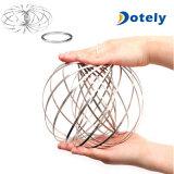 Fluxo do anel de brinquedo Flowtoys cinética da Mola do Braço de metal em 3D mola mágica