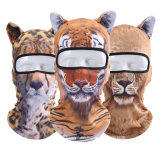 couvre-chef de la face 3D estampé par animal