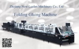 Hot Melt Carton Box Folder Gluer Machine for CD Box and Baking Box (GK-1100GS)