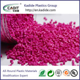 PC Plastic Material Red Color Masterbatch for Blow Molding