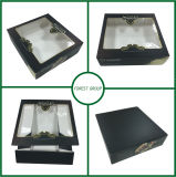 Коробка торта еды картона с окном PVC