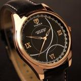Reloj compacto del cuarzo del precio de fábrica del reloj de los hombres de negocios de la dial H367 para los hombres