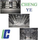 Humo 380V Ahumadero horno/salchichas para la certificación CE 500 kg/hora