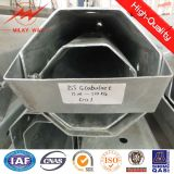 Горячим Q345 гальванизированное сбыванием стальное Поляк 6m, 10m, 12m, 15m для электрического Поляк