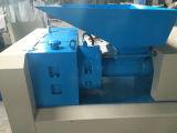 Salida de la gran máquina de reciclaje de residuos de doble tornillo