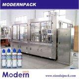 Línea de embotellamiento triple del agua mineral/máquina de rellenar del agua pura
