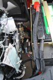 Benzin-Gabelstapler UNO-2.5t mit Motor Nissan-K25 und dem Triplex 4.3m Mast