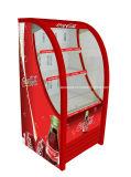 Feito no refrigerador comercial do indicador da parte dianteira do refrigerador do refrigerador do Showcase da bebida do ar aberto do supermercado de China