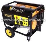 De kleine 4kVA 4kw Draagbare Generator Met geringe geluidssterkte van de Benzine met het Comité van Vissen