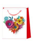 Bolsas de papel de moda de las tarjetas del día de San Valentín del nuevo diseño para los regalos