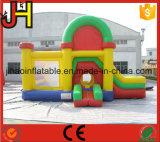 Casa combinada de la gorila inflable con la diapositiva para la venta