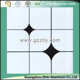 Plafond en aluminium polymère décoratif en gros d'usine avec ISO9001