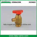 Válvula de purga de cobre amarillo de la alta precisión para el aire (AV-PV-2007)