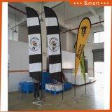 Bandierina di spiaggia della bandiera di volo per la pubblicità e la bandiera
