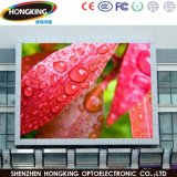 P6 al aire libre de vídeo LED pantalla de pared fijo para el uso de publicidad