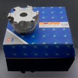 Fresa de cara de las herramientas de corte del CNC con las piezas insertas indexables que muelen las herramientas