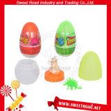 Het zoete Stuk speelgoed van het Ei van de Dinosaurus van de Weg met het Harde Suikergoed van het Uitsteeksel