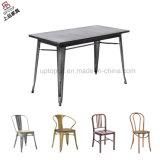 Tableau de cru de modèle en métal de café en gros de meubles et présidence industriels (SP-CT676)