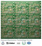 Placa de circuito impreso multicapa de PCB para Konka TV con oro de inmersión