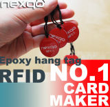 Водоустойчивый металл ярлыка Ntag216 NFC бирок RFID анти-