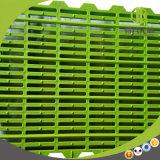 Étage en plastique de qualité différente de dimension employant dans la ferme de porc moderne