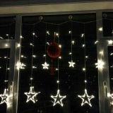 LED-Stern-Licht-Vorhang-Lichter für Dekoration