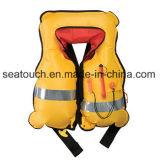 Giubbotto di salvataggio gonfiabile manuale di marca della Cina CCS/Ec/Ce