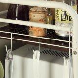 Полка кухни шкафа металла стойки микроволновой печи устроителя кухни высокого качества