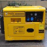 5kw 8kVA 180Aの防音の溶接の発電機のディーゼル無声溶接工の発電機