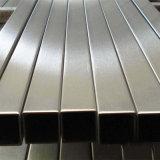 aislante de tubo rectangular del acero inoxidable 304 304L