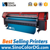 la impresora solvente del formato amplio de los 3.2m con con Konica dirige (720dpi)