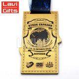 승진은 주문 금속 3D 포상 기념품 연방 메달을 개인화했다