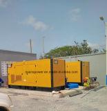 Generador Diesel Cat dosel silenciosa y generador de tipo abierto estándar