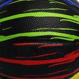 Bille en caoutchouc de basket-ball de promotion en gros en vrac