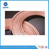 Tubulação do cobre da bobina da panqueca de R410A na câmara de ar de cobre do condicionador de ar