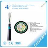 Las memorias GYTA53 144 dirigen el cable de la fibra del entierro con la muestra libre