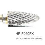 가늘게 썬 담배 44.5mm 정강이 치과 실험실 절단기 저속 탄화물 텅스텐 교련 Burs HP F060FX