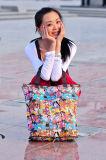 2018 Sacola de Compras Dobrável Portátil Moda Mulheres Sacos Crossbody Ombro Bolsa feminina sacola de praia no Verão Malas de senhora Brand