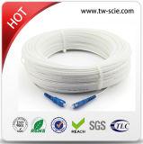 2 câble d'interface de fibre optique du réseau local FTTH de câble de SM de faisceau