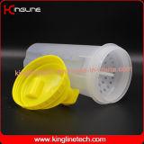 bottiglia di plastica dell'agitatore della proteina 700ml con il filtro (KL-7020)