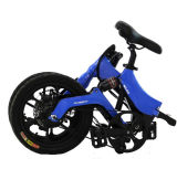タイヤ16インチのの青またはオレンジか黒くまたは白い電気折る都市バイク
