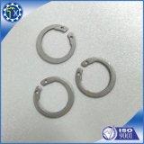 Peça feita sob encomenda da fabricação da ferragem do metal, arruela de cobre fazendo à máquina do CNC