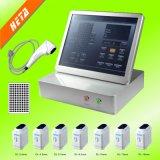 11 linhas 10000 máquina facial antienvelhecimento do elevador de face dos tiros 3D Hifu para o uso Home