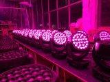 28*25W RGBW 4 en 1 luz principal móvil de la etapa de la viga LED de la colada del zoom