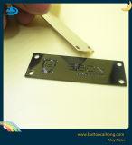 青銅色の真鍮のプラクのGunmetalおよびニッケルのカラーによって刻まれる金属板