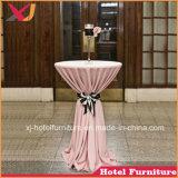 コーヒーのための耐久の低い小テーブルの布かレストランまたはホテルまたは宴会またはホールまたはイベント