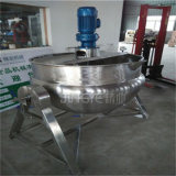 Inclinar o misturador de cozimento a vapor de Dupla Camada