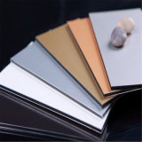Feve/Epoxy Color hoja de aluminio con recubrimiento Panel Compuesto de Aluminio