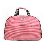 Le donne adattano il sacchetto casuale di corsa del Duffle del Holdall di fine settimana dei bagagli di stampa